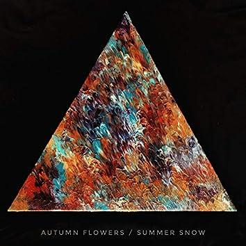 Autumn Flowers / Summer Snow