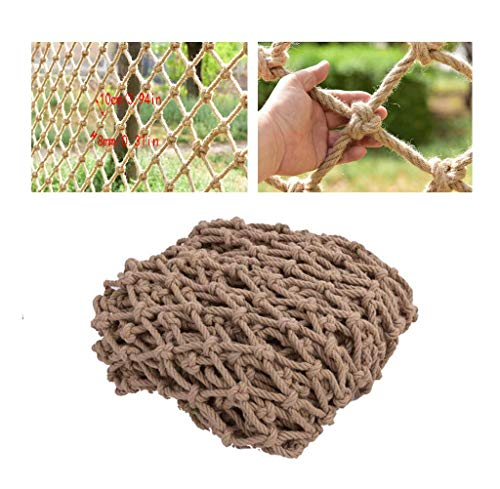 Why Should You Buy Staircase Balcony Anti-Fall Net Decoration Net Protective Net Hemp Rope Child Saf...