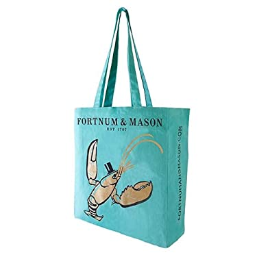Fortnum and Mason London UK Fortnum's Lobster Bag for Life Shopping Bag, Grocery - USA STOCK