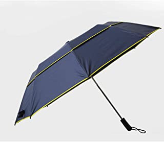 Automatic Folding Umbrella, Golf Umbrella, Double Decker,Easy to Carry One-Button Open Suitable for Both Men and Women ,with Ergonomic Handle