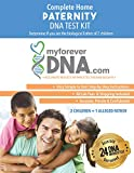 My Forever DNA - Paternity Test Kit (2 Children + 1 Alleged Father) 24 DNA (Genetic) Marker Test All Lab Fees Included