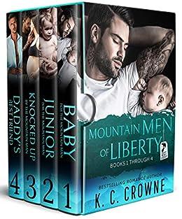 Mountain Men of Liberty: A Contemporary Romance Box Set by [K.C. Crowne]