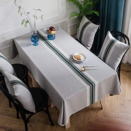 Gcxzb Cubierta de la mesa a prueba de agua de la mesa de la mesa Limpie el mantel rectangular, para la Navidad, la acción de gracias, los manteles de Pascua, todas las estaciones (Color: a, Tamaño: 13