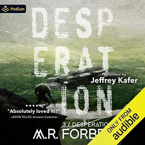 Desperation Audiobook By M.R. Forbes cover art
