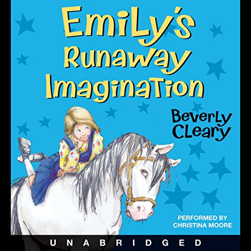 Emily's Runaway Imagination audiobook cover art