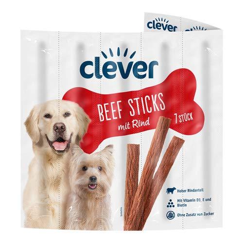 clever Beef Sticks mit Rind, 7 Stück
