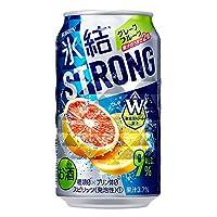 キリン 氷結ストロング完熟グレープフルーツ 缶350ml×24本入【×2ケース】