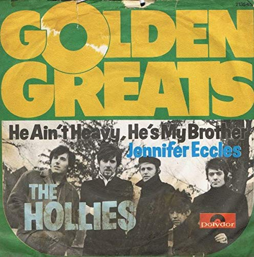 The Hollies - He Ain't Heavy, He's My Brother / Jennifer Eccles - Polydor - 2135 401