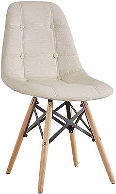Amazon.com: LRZS-Furniture Silla de comedor de diseño ...