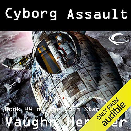 Cyborg Assault audiobook cover art