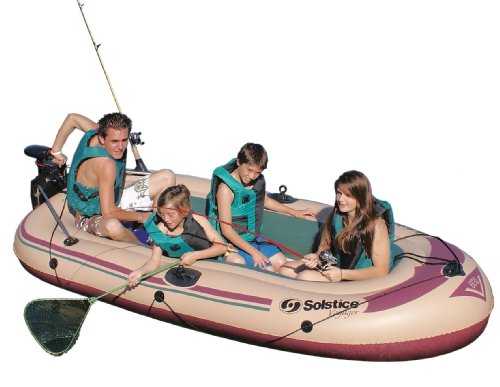 Solstice by Swimline Voyager 6-Person Boat