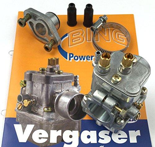 Vergaser, kpl. BING 17/15/1101 - (75km/h-Variante) S83