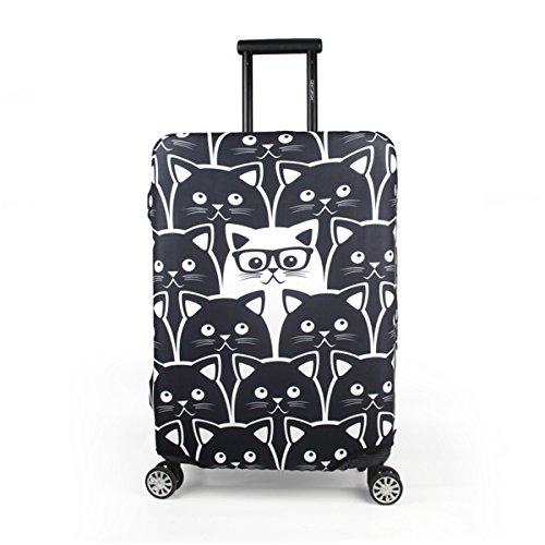 """Maddy's Home Protector de Maleta Divertida de Dibujos Animados para Equipaje de 23-32 Pulgadas (XL (Fit 29""""-32"""" Suitcase))"""