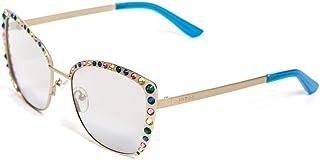Guess Women's Cateye Sunglasses GU7586 32G Gunmetal Silver