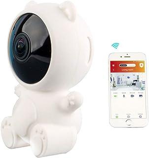 Babá eletrônica Smart Security inteligente Wi-Fi Full HD e compatível com Alexa e Google Assistant, VIVITAR, Branca