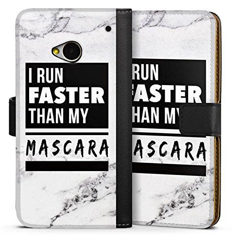 DeinDesign HTC One M7 Tasche Hülle Flip Case Mascara Beauty Statement