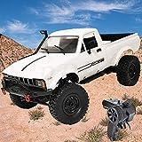 ラジコンカー、4輪駆動オフロードトラックキット、WPL C24-1モデルのおもちゃリモートコントロール電動クライミングビークルピックアップ4WDラジコンカー