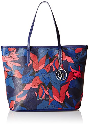Armani Jeans9220286A714 - Shopper Mujer, Color Azul, Talla 29x17x42 cm (B x...