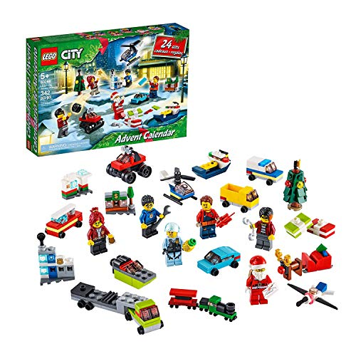 LEGO City 60268 - Calendario de Adviento 2020 (342 piezas)