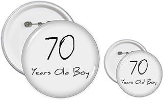 Kit de badges pour enfants de 70 ans