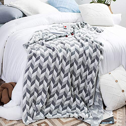 Wolldecke Sofa Decke Gestrickte Decke Büro-Klimadecke Spezifikationen Sheraton Grau 120 * 180Cm
