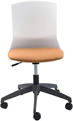 Amazon.com: LJHA - Silla de oficina con cojín de tela, sin ...