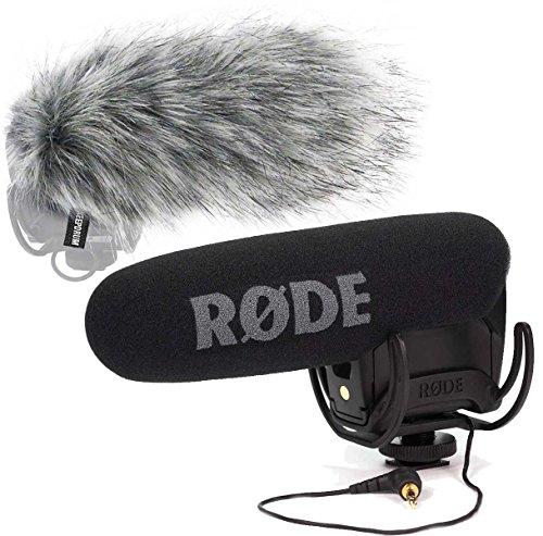 Rode Videomic Pro Rycote Kamera Richtmikrofon + keepdrum Fell-Windschutz WS03
