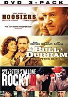 MGM Sports 3-Pack (Hoosiers/ Bull Durham/ Rocky II)