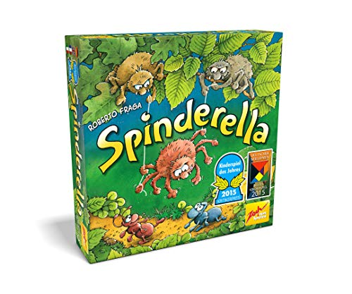 Zoch 601105077 Spinderella, Kinderspiel 2015, Kindgerechtes Wettlaufsspiel in unserschiedlichen Schwierigkeitsstufen, für Kinder ab 6 Jahren