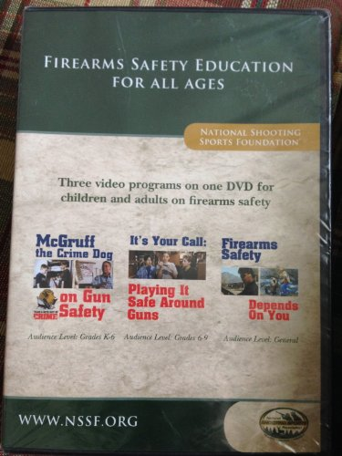 Firearms Safety Education For All Ages (THIS IS A DVD)