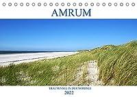 Amrum - Trauminsel in der Nordsee (Tischkalender 2022 DIN A5 quer): Erleben Sie die Trauminsel Amrum mit einem der breitesten Straende Europas (Monatskalender, 14 Seiten )
