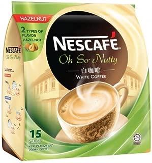 2-Pack Malaysia Best Brand/Nescafé White Coffee HAZELNUT