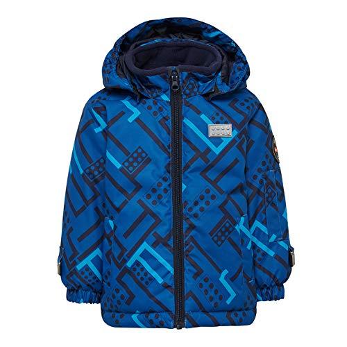 Lego Wear Baby-Jungen Lego Tec Basic LWJORDAN 700-Skijacke/Winterjacke Jacke, Blau (Blue 553), (Herstellergröße:86)