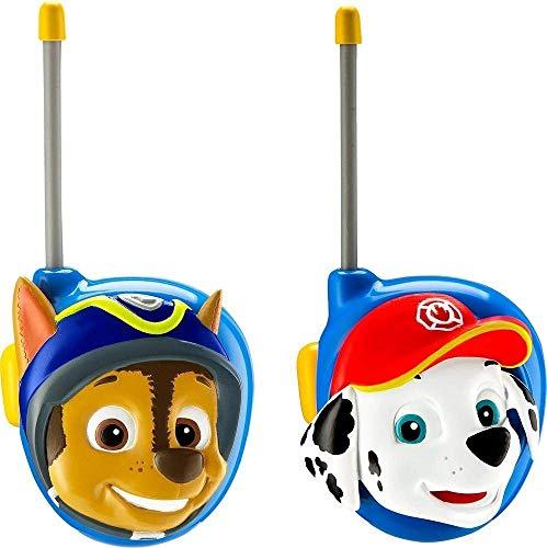 Paw Patrol New Walkie Talkies - Set of 2 Kids Walkie Talkies Chase and...