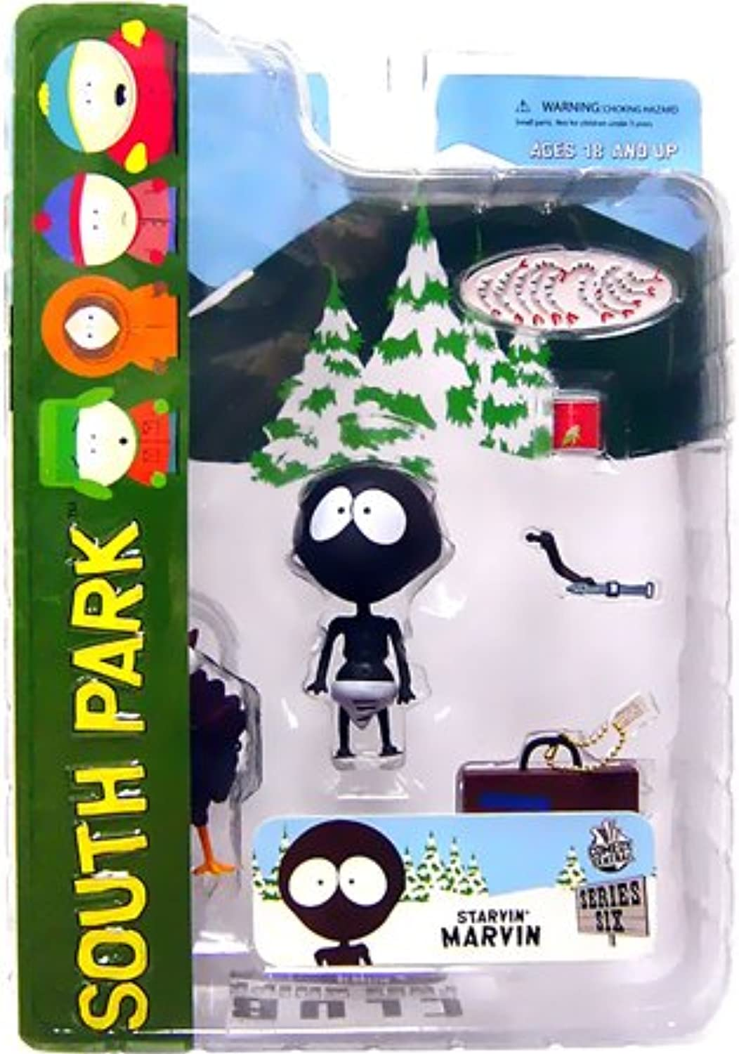 Mezco Toyz South Park Series 6 Action Figure Starvin Marvin
