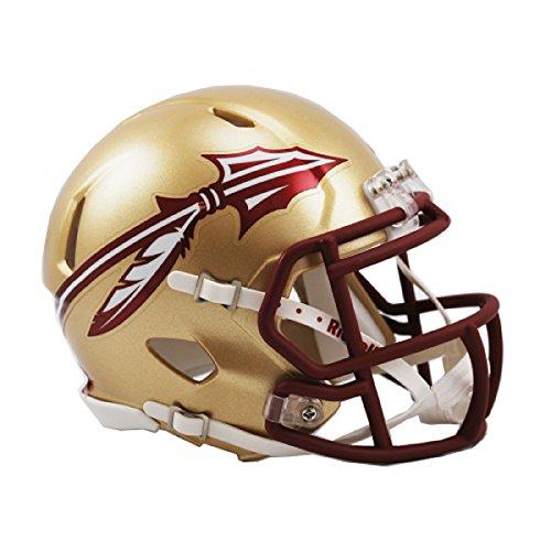 NCAA Speed Mini-Helm, Jungen Kinder Damen Herren Unisex, RIDDMINIUFSUSP, Gold, S