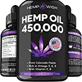 ✅ Powerful Hemp Oil Drops - Hempwish Hemp Oil is an excellent opportunity to boost your overall wellbeing. The anti-inflammatory and antioxidant power of our hemp seed oil provides better mood than ever before. Get on track and enjoy your better life...