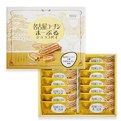 【名古屋お土産】名古屋コーチンまーぶるショコラパイ 14個