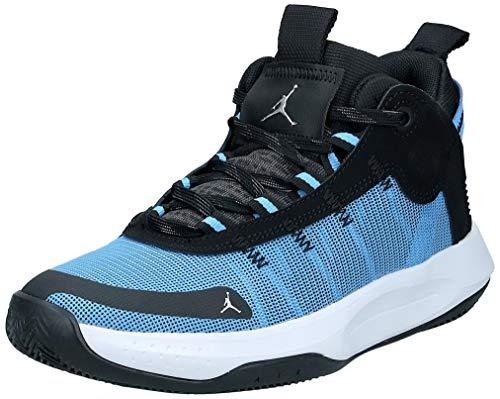 Nike Jungen Jordan Jumpman 2020 (GS) Basketballschuh, Univ Blue MTLC Silver Black White, 39 EU