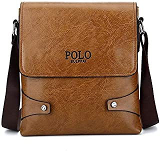 جيب بولو حقيبة للجنسين-كاكي - حقائب طويلة تمر بالجسم