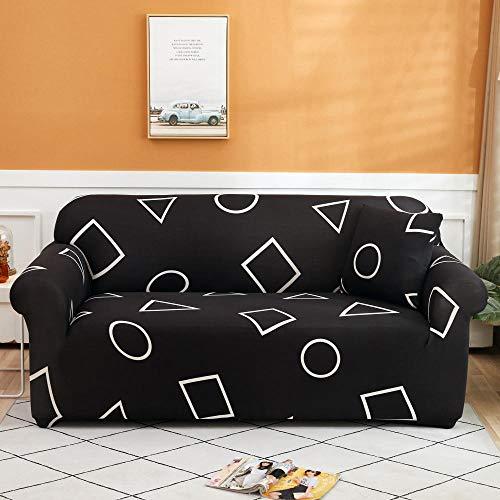 Sofá Funda elástica para Protector Fundas de sofá de Esquina de 2 plazas Fundas de sofá universales para Sala de Estar, Funda de sofá elástica Funda de sofá de Esquina de Toalla 145-185cm M