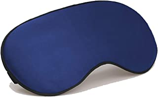 coogstore Skin-Friendly Soft Silk Sleep Mask for A Full Night's Sleep, Eye Mask with Adjustable Strap(One Strap) 6 Colors Available
