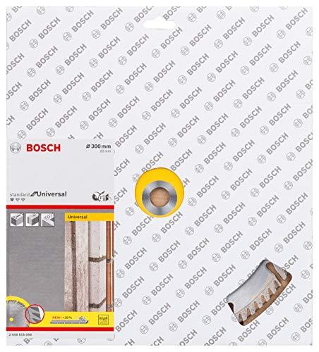 Bosch Professional 10 Stuks Diamantdoorslijpschijf Standard for Universal (beton en metselwerk, 300 x 22,23 mm, accessoire haakse slijper)