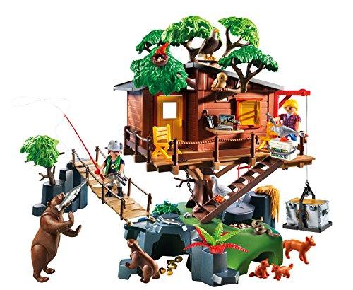 Playmobil Cabane des Aventuriers dans les Arbres 5557 - 1