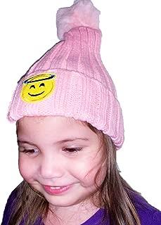crochet emoji hat