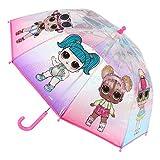CERD� LIFE'S LITTLE MOMENTS- Paraguas Transparente de LOL Surprise - Licencia Oficial MGA, Color (2400000552)