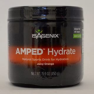 Amped Hydrate Canister Orange - 45 Serving