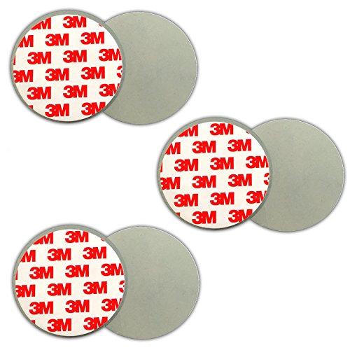 3X Magnethalterung Rauchmelder | 3M Magnet Befestigung Magnethalter Halter Decke