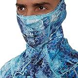 FHM Máscara facial marca marca UPF 50+ protección solar UV multifuncional polainas para el cuello, bufanda al aire libre para correr, senderismo, ciclismo, esquí, snowboard, caza