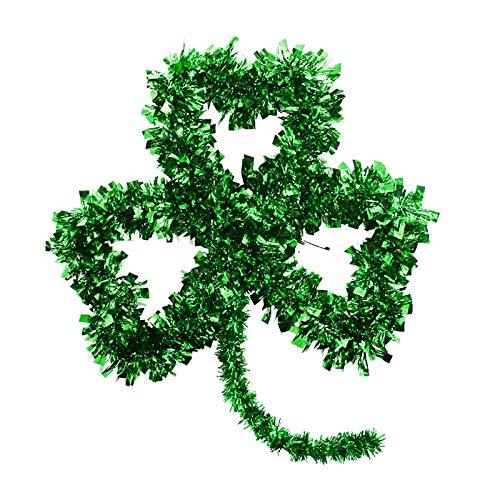 Gaoqi Día de San Patricio Guirnalda Verde Puerta Irlandesa y decoración de Pared para el hogar Diversión para Fiestas, decoración para el hogar Onsale de Pascua